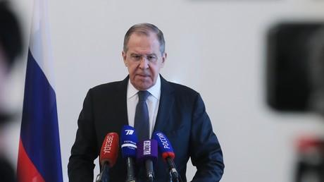 Der russische Außenminister Sergei Lawrow zieht am 17. Februar in Moskau eine Bilanz zur Münchner Sicherheitskonferenz.