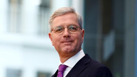 Norbert Röttgen kündigt auf einer Pressekonferenz am 18. Februar 2020 in Berlin seine Kandidatur als Parteivorsitzender an.