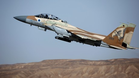 Ein Kampfflugzeug der israelischen Luftstreitkräfte, Archivbild.