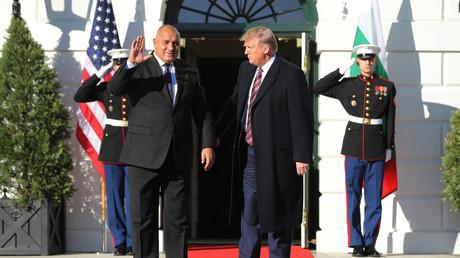 Bulgariens Ministerpräsident Bojko Borissow zu Gast bei US-Präsident Donald Trump im Washington (25. November 2019).