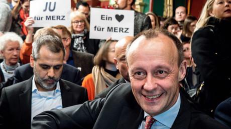 Der frühere Unionsfraktionschef Friedrich Merz, hier bei einer Veranstaltung  von Forum Mittelstand am 13.02.2020 in Berlin, will am Dienstag seine Kandidatur für den CDU-Vorsitz bekanntgeben. Ob die Wähler auch ein Herz für Merz haben, wird sich zeigen.