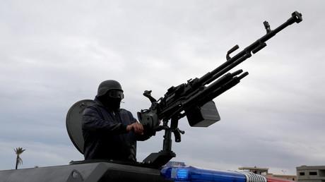 Längst wird das libysche Schlachtfeld mit modernen Waffensystemen geflutet, Tripolis, Libyen, 30. Dezember 2019