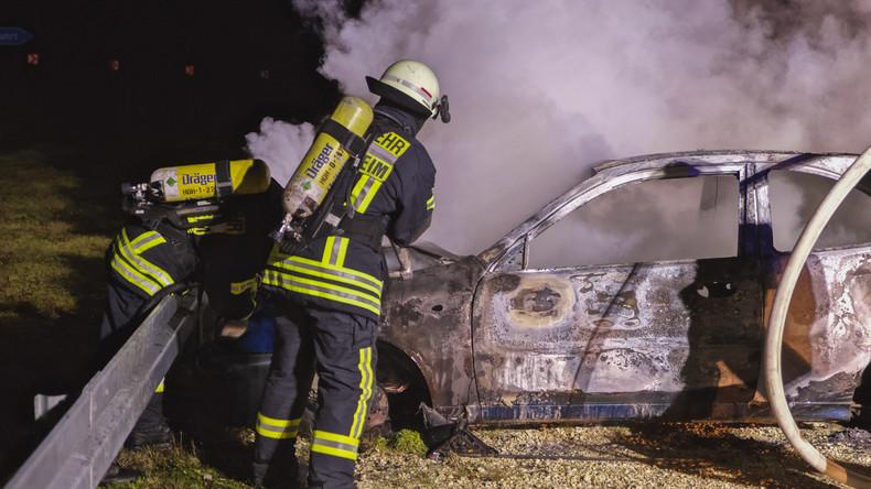 Auto des AfD-Chefs Tino Chrupalla ist abgebrannt – Verdacht der Brandstiftung