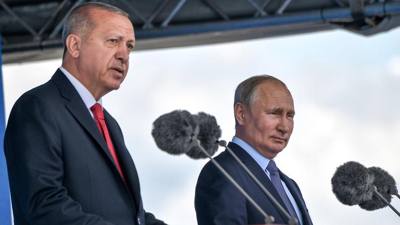 Türkischer Präsident Erdoğan kommt am 5. März nach Russland