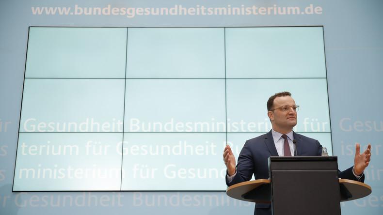 LIVE: Bundesgesundheitsminister Spahn hält Pressekonferenz zu COVID-19 ab