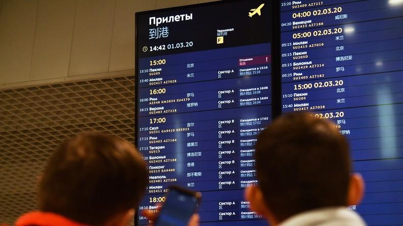 Russland schränkt wegen Coronavirus Flugverkehr mit Südkorea ein