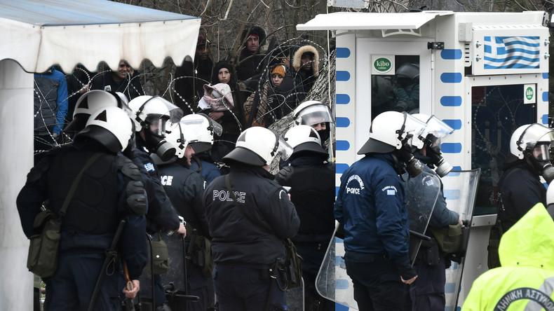 Zur Sicherung der EU-Grenzen: Österreich entsendet Grenzbeamte nach Griechenland