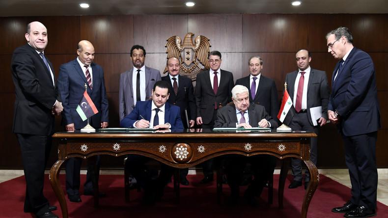 Im Kampf gegen die Türkei: Syrien und Libysch-Nationale Armee unterzeichnen Memorandum