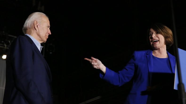 Establishment bündelt weiter Kräfte: Klobuchar gibt Kandidatur auf und will Biden unterstützen