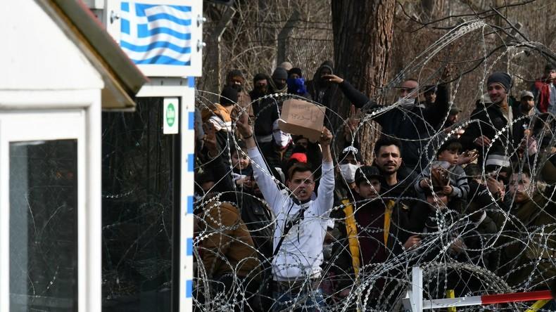 Türkisch-griechische Grenze: Migrantenansturm nimmt zu