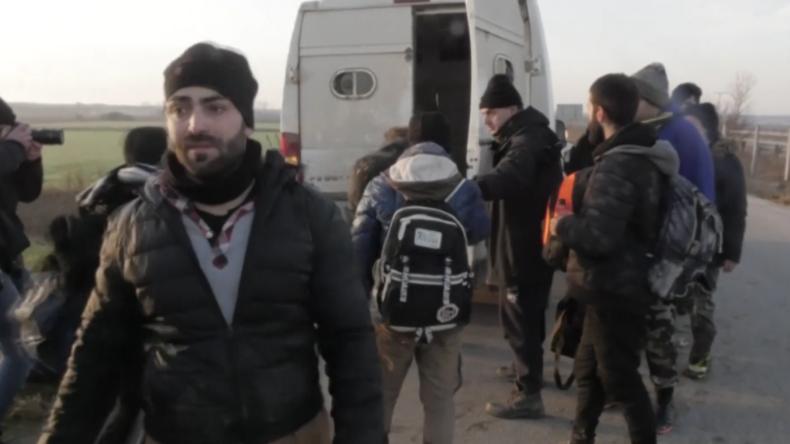 """Griechenland: """"I want to go Deutschland"""" - Polizei nimmt illegal eingereiste Migranten fest"""