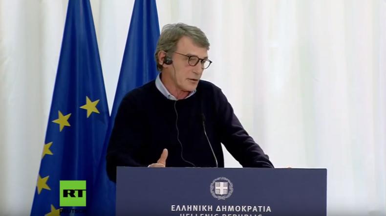 LIVE: EU-Spitzenpolitiker besuchen gemeinsam mit Mitsotakis die griechisch-türkische Grenze