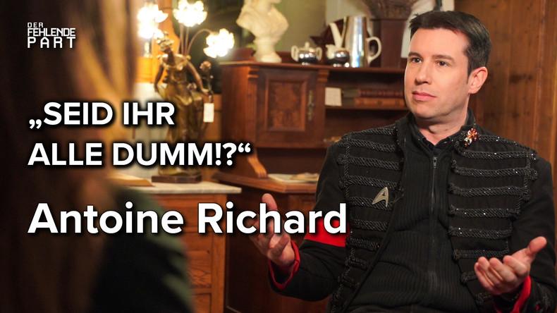 Medien, Meinungsfreiheit und Hate-Speech – RTL-Persönlichkeit Antoine Richard im Gespräch