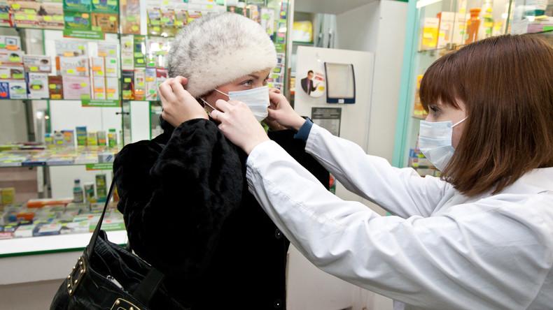 Hamsterkäufe und Schwarzmarktgeschäfte: Russland verhängt Ausfuhrverbot für Atemschutzmasken