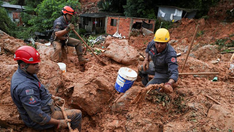 Brasilien: Mindestens 15 Tote aufgrund extremer Regenfälle