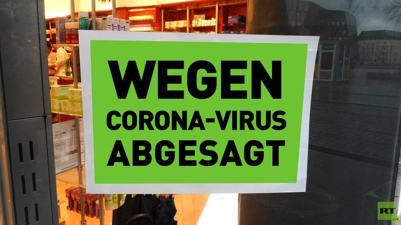 Wegen Coronavirus: Veranstaltungen werden reihenweise abgesagt