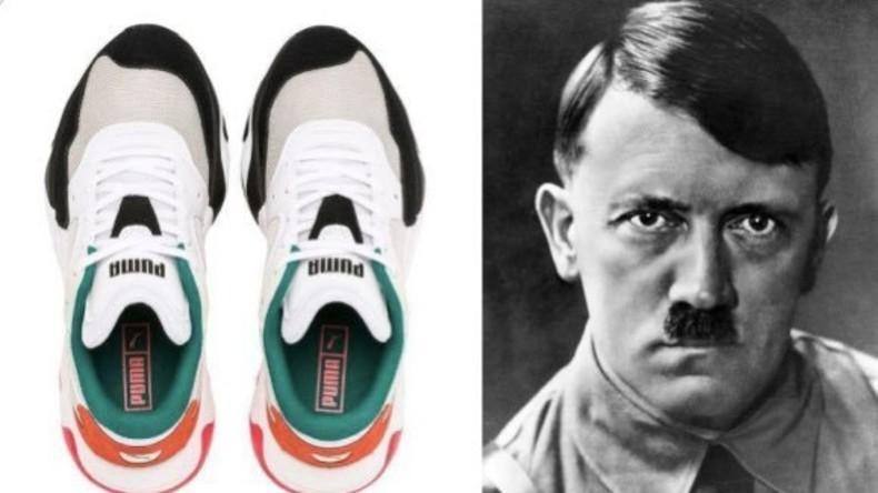 Turnschuhe mit vermeintlichem Hitler-Konterfei: Vorwürfe gegen Sportmarke Puma