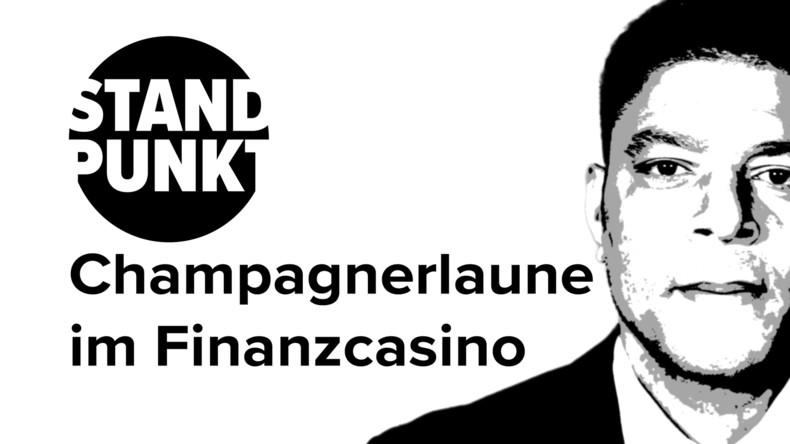 """Champagnerlaune im Finanzcasino: Die """"repräsentative Demokratie"""" sägt weiter am eigenen Ast (Video)"""