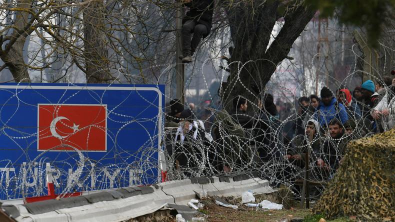 """EU-Innenminister zur Lage an der Grenze zur Türkei: """"Illegale Übertritte werden nicht toleriert"""""""
