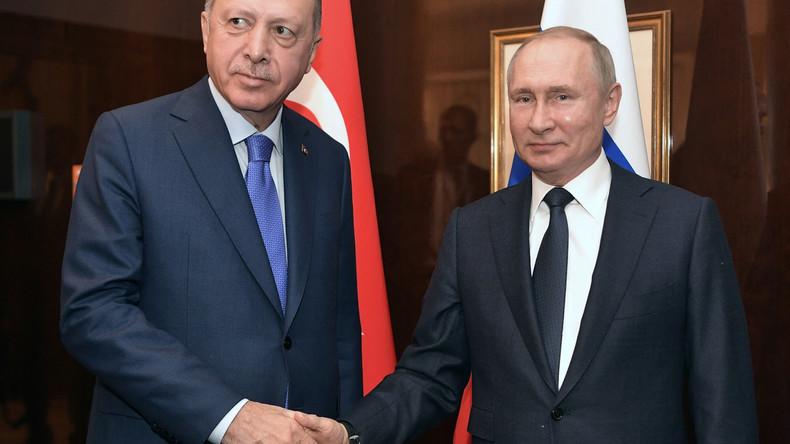 LIVE: Treffen von Putin und Erdoğan in Moskau