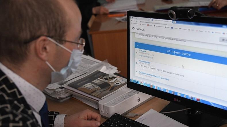 Putin: Fake News über Coronavirus im Internet kommen hauptsächlich aus dem Ausland