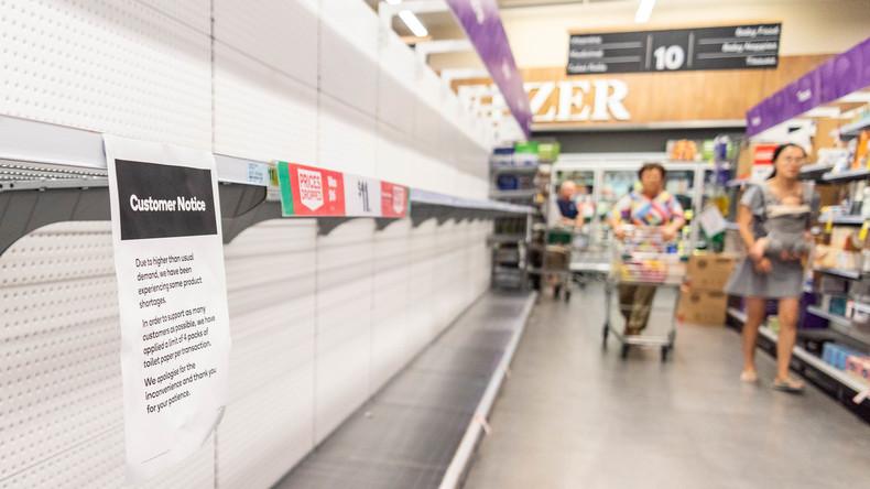 Wisch und weg: Australische Zeitung druckt Extraseiten wegen Klopapier-Mangel