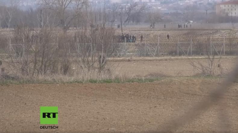 Griechisch-türkische Grenze: Durchbruch von Flüchtlingen aussichtslos