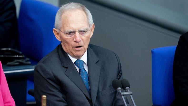 """Schäuble: """"Regierung hat Rechtsextremismus zu langetoleriert"""""""