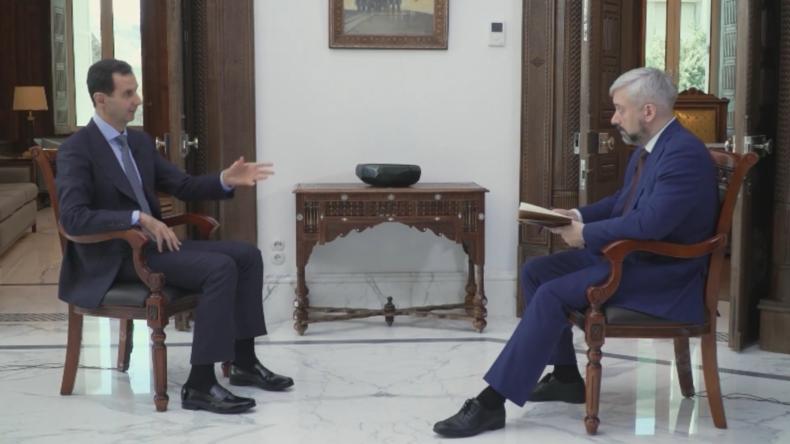 """Baschar al-Assad: """"Natürlich ist es möglich, die Beziehungen zur Türkei wiederherzustellen"""""""