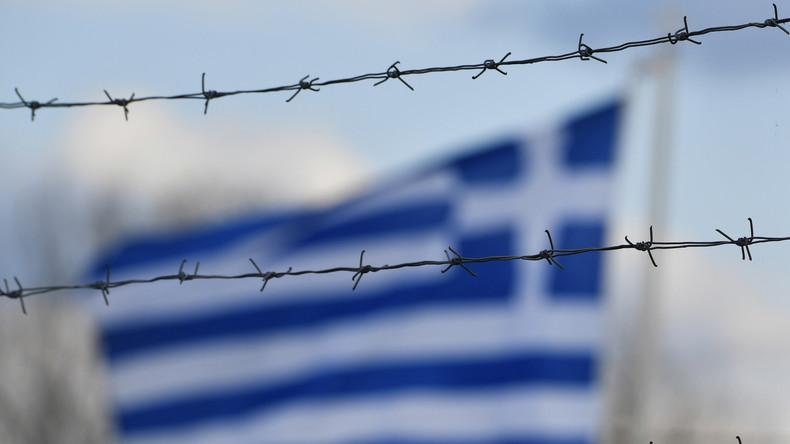 """""""Wir wollen Freiheit"""" – Migranten protestieren am Grenzübergang Pazarkule"""