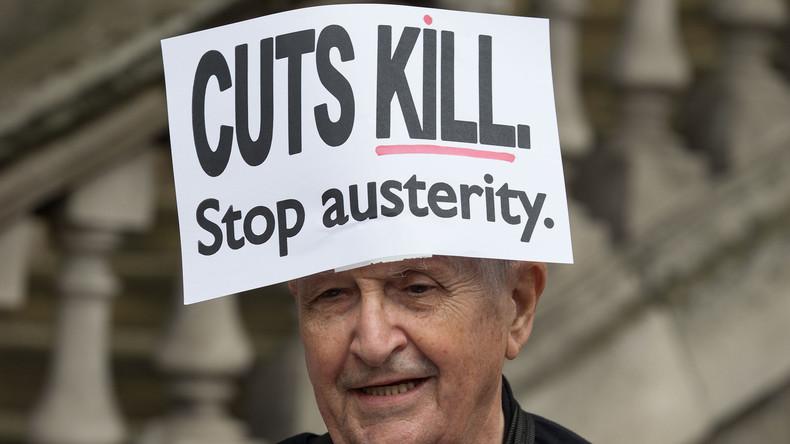 Thanks Austerity: Lebenserwartung in England stagniert zum ersten Mal in 100 Jahren und sinkt teils