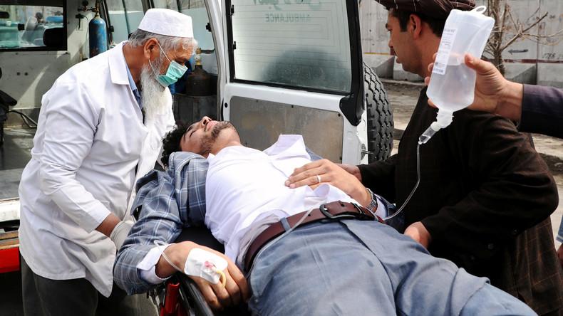 Afghanistan: Angriff auf Zeremonie bei Rede des Vorsitzenden des Friedensrates – Dutzende Tote