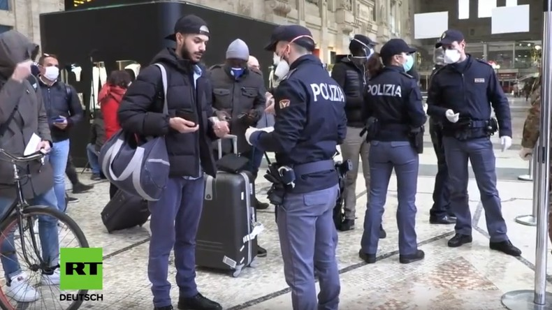 LIVE: Mailand wird wegen Coronavirus abgeriegelt