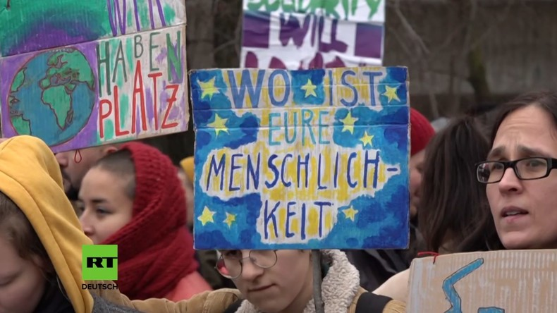 Groko-Beschluss: Deutschland will möglicherweise Flüchtlingskinder aufnehmen (Video)