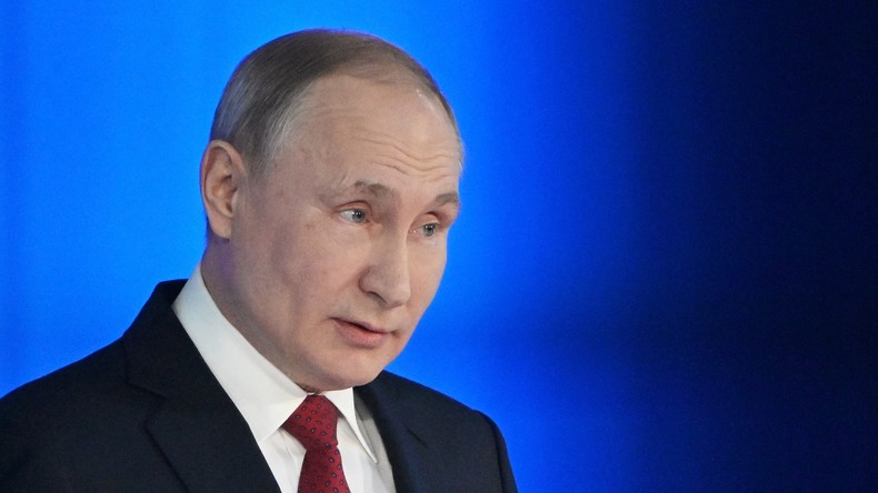 LIVE: Putin spricht im russischen Parlament über Verfassungsänderungen