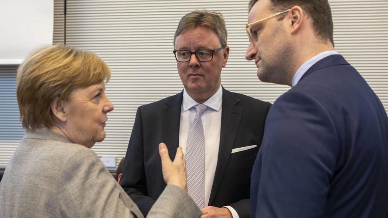 Coronavirus: Merkel rechnet mit rund 70 Prozent Infizierten in Deutschland