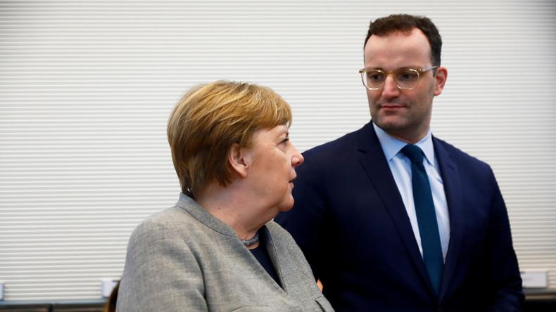 LIVE: Merkel und Spahn geben Pressekonferenz zur Corona-Epidemie