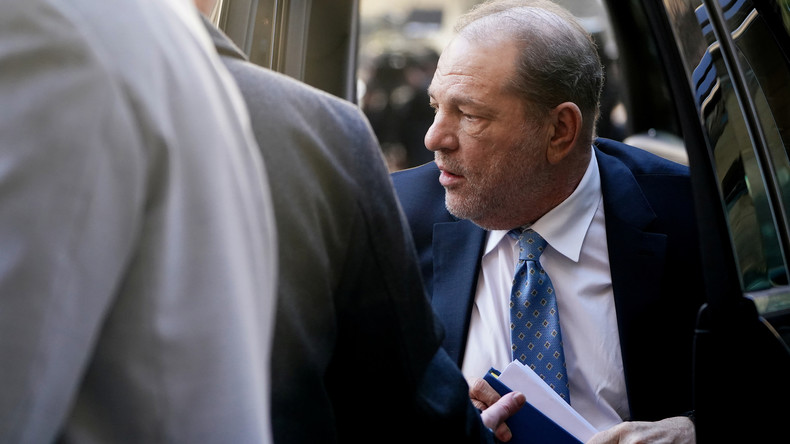 Strafmaß verkündet: 23 Jahre Haft für Weinstein