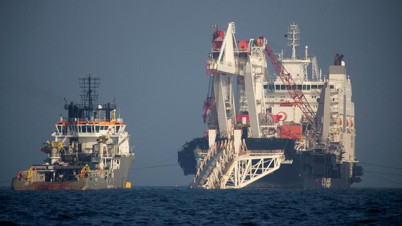 Putin: Sanktionen gegen Nord Stream 2 dienen eigennützigen US-Interessen