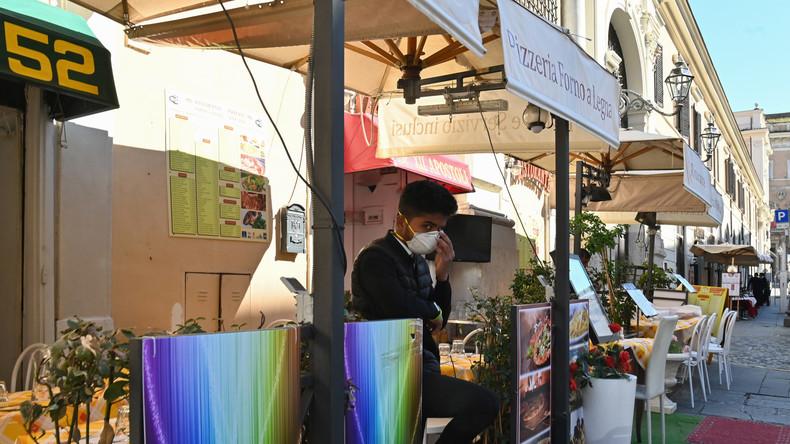 Wegen COVID-19: Italien schließt Geschäfte und Restaurants – Fast 200 weitere Tote