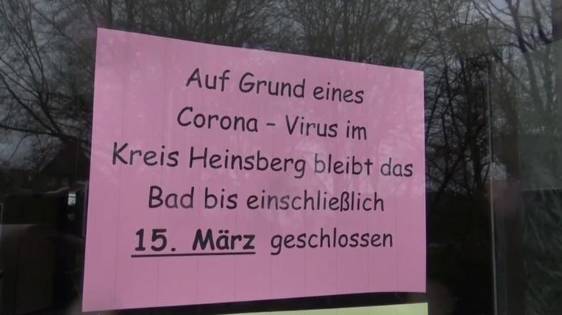 Nach bestätigten Todesfällen durch Corona-Virus: Heinsberger Schulen bleiben geschlossen