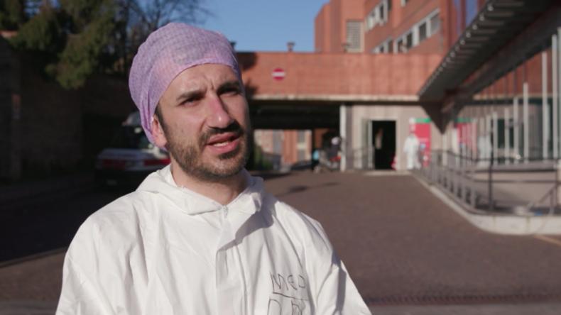 """Notfallarzt in Italien: """"Unsere Kapazität könnte an ihre Grenzen stoßen"""""""