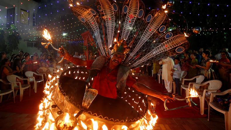 """Indiens Wirtschaft wird zu """"großem Gewinner"""" des weltweiten Ölpreisverfalls"""