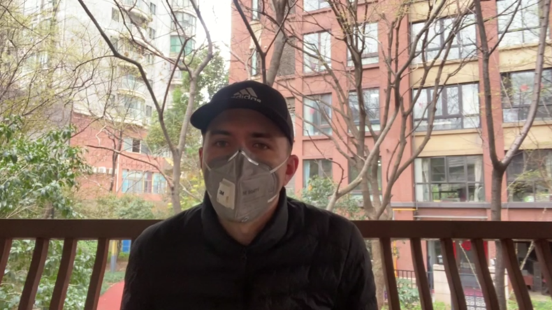 "Brite im Coronavirus-Herd Wuhan: ""Die Lage bessert sich"""