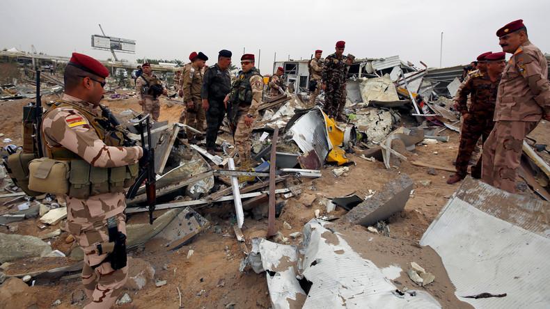 Doch keine chirurgische Präzision: US-Vergeltungsschlag im Irak trifft im Bau befindlichen Flughafen