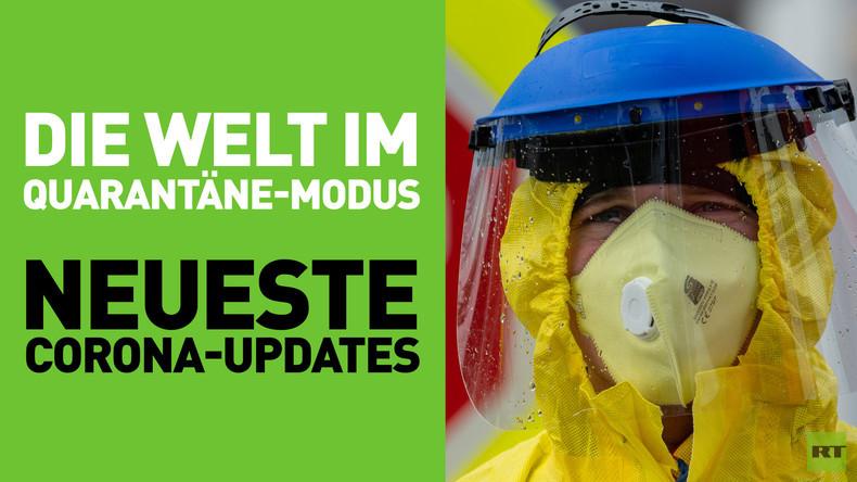 Die Welt im Quarantäne-Modus: Aktuelle Zahlen zur Corona-Pandemie