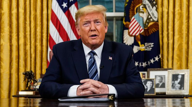Live: US-Präsident Donald Trump gibt Erklärung zur Corona-Krise in den USA ab