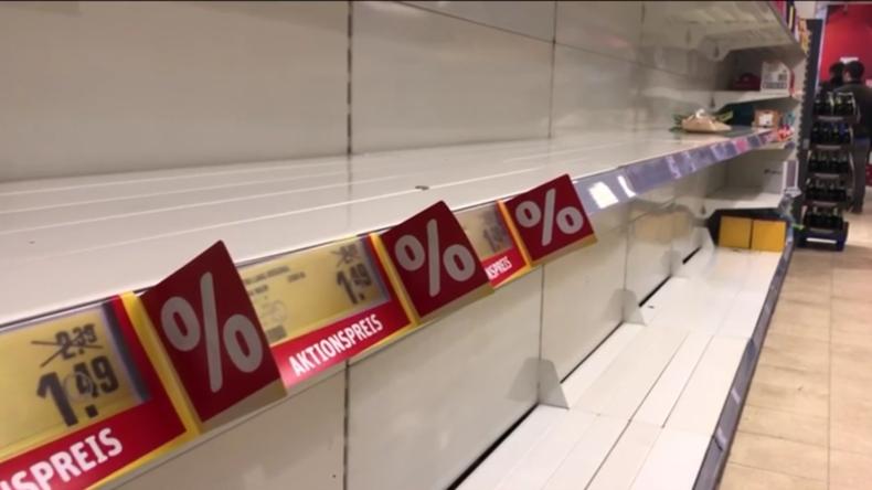 Coronavirus in Deutschland: Impressionen aus einer leergekauften und stillgelegten Republik