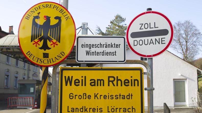 Deutschland schließt Grenzen zu Österreich, Frankreich und der Schweiz