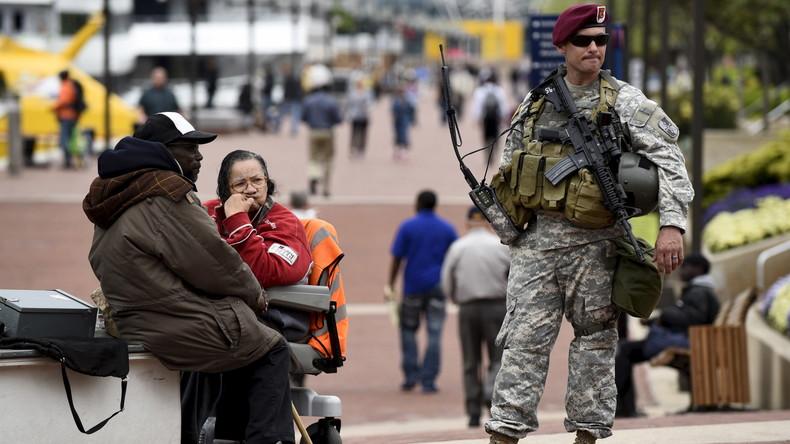 Kommt das Kriegsrecht? US-Regierung weist Falschmeldungen zur Corona-Epidemie zurück